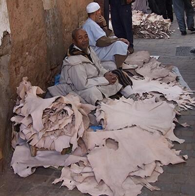 Marrakech 7 / Dans la Médina (5) : les commerçants
