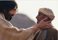 Jésus guérit un homme sourd et muet