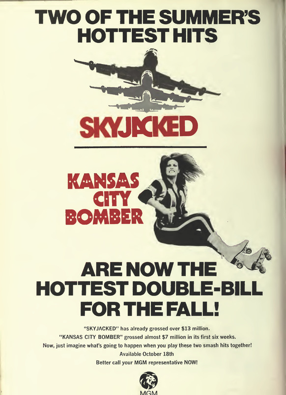 SKYJACKED / KANSAS CITY BOMBER BOX OFFICE