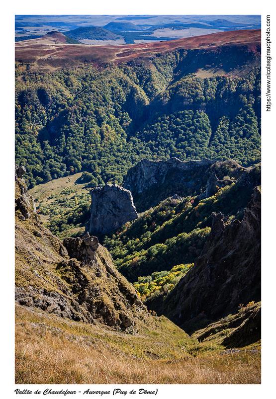 Roc de Cuzeau, massif des Monts Dore