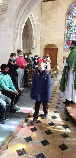 Répétition pour la première communion