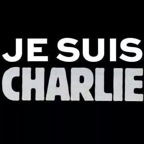 Je suis Charlie 7 janvier 2015