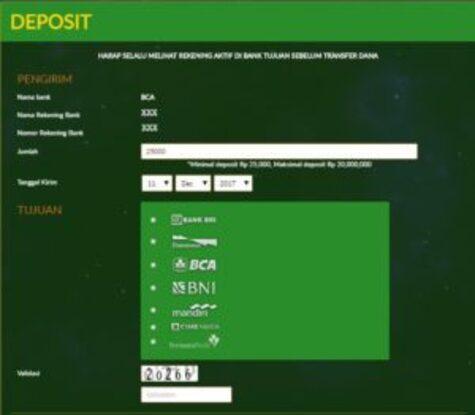 Step Deposit Gambling Ceme Online QDewi.net