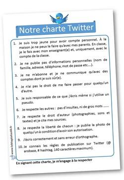 Charte Twitter