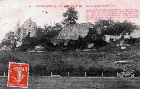 LES REMPARTS DE NEUF-MARCHE (Seine-Maritime)