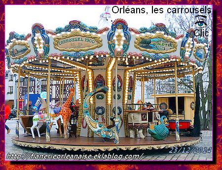 Orléans, ambiance fin d'année, les Carrousels