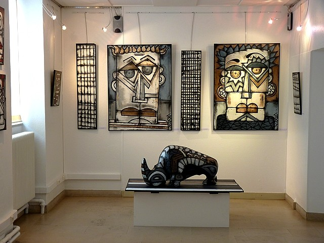 Gary Peintre Sculteur 17 Marc de Metz 2012