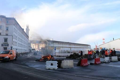 Nantes – Saint-Nazaire. Nouvelle opération « Port mort » trois jours, la semaine prochaine (OF.fr-17/01/20-19h27)