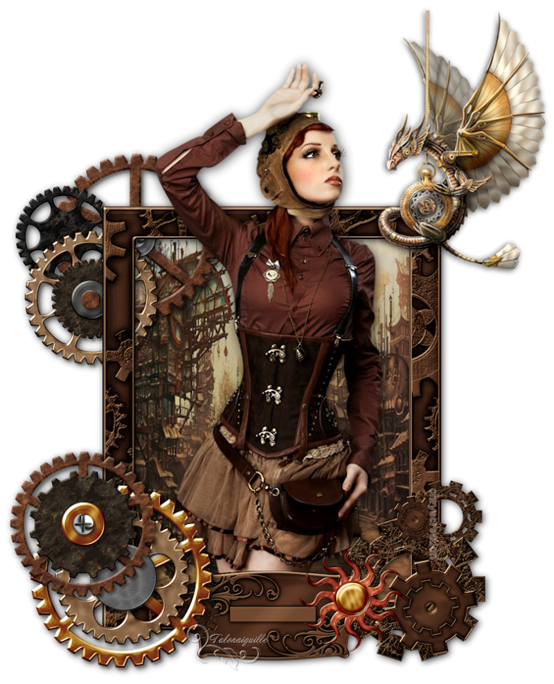 *** Steampunk girl ***