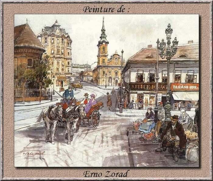 Peinture de : Erno  Zorad