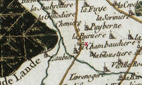 Le combat de la Chambaudière....