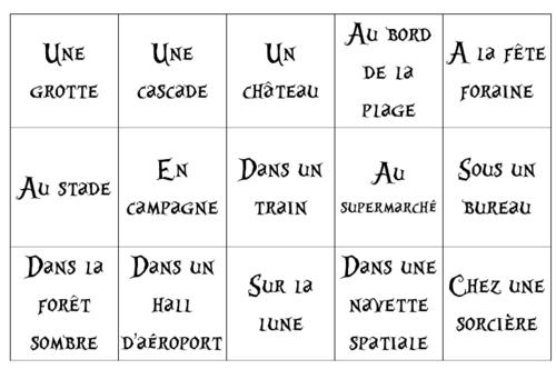 français : murs des écrits - CM - des étiquettes pour écrire