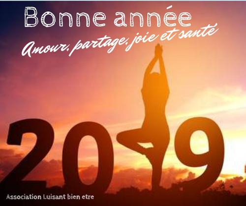 Bonne année 2019 (en yoga !)