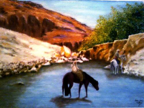 L'artiste peintre Mohammed Saïd HACHANI -P.2