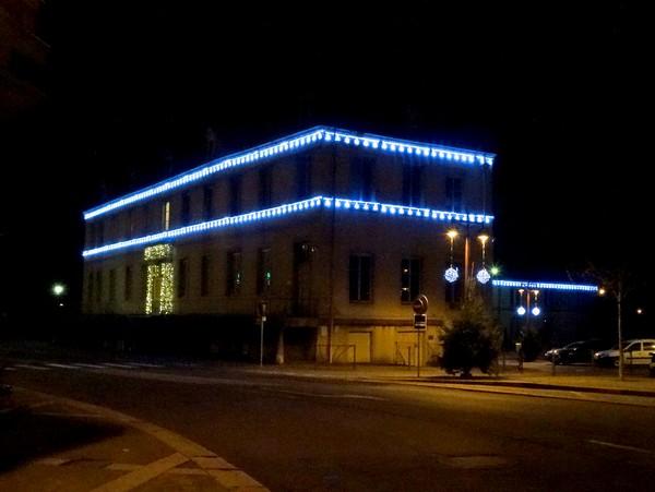 Châtillon sur Seine illuminée pour les Fêtes 2016