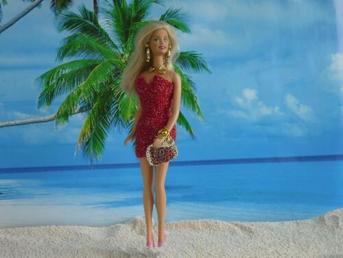 "Barbie en modèle ""Brasier"""