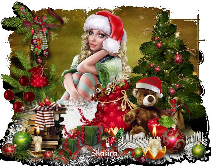 Créations de Noel bisous