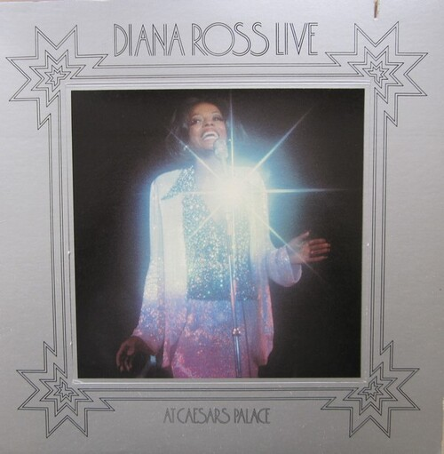 """Diana Ross : Album """" Live At Caesars Palace """" Motown Records M6-801S1 [ US ]"""