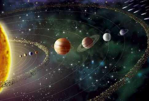 Le système solaire,terrain de jeu d'André Brahic