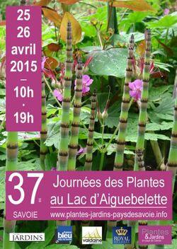 Fête des plantes Aiguebelette
