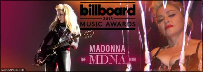 Madonna Billboard Music Awards 2013 - MDNA Tour Top Tour