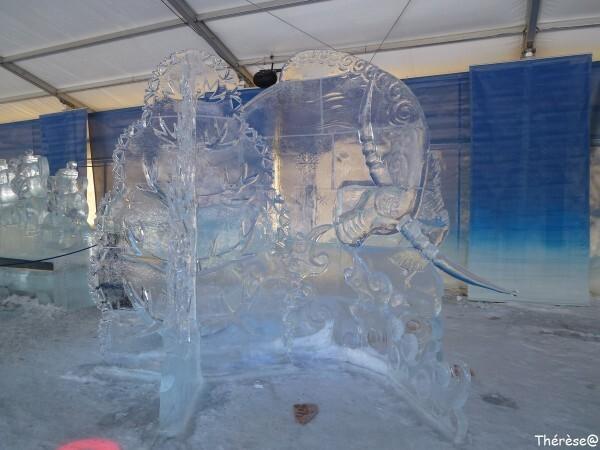 Ottawa sculpture sur glace L'été de rêve des bouleaux (1