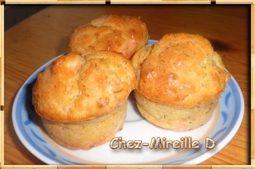 Mini-Muffins Saumon fumé et Aneth