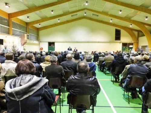 Les vœux de la Municipalité de Châtillon sur Seine pour 2012...