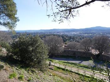 Panorama en montant au château