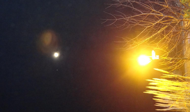 Nouvelle Lune du 22 Mars 2012, avec un ciel toujours marqué par le puissant triangle de Terre !