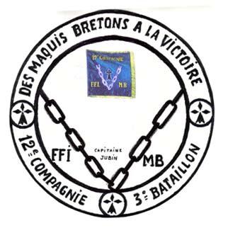 HISTOIRE DE LA 12° Cie FFI d'Ille et Vilaine