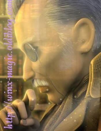 Lord Bartleby, autrefois copiste d'Oritel et maintenant Gardien du Livre du Destin