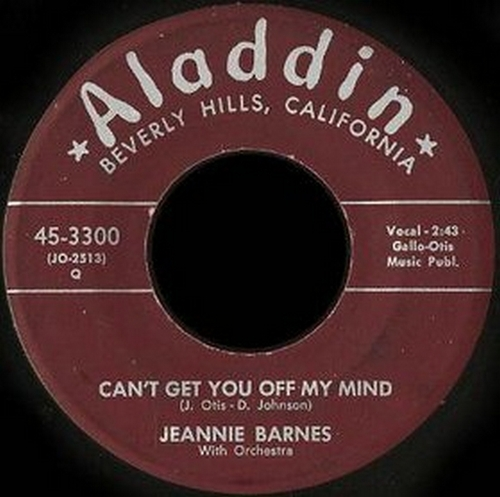 Jeannie Barnes With Orchestra : Can't Get You Off My Mind