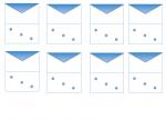 les enveloppes: vers la multiplication