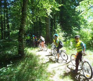 La sortie vélo à Mondon
