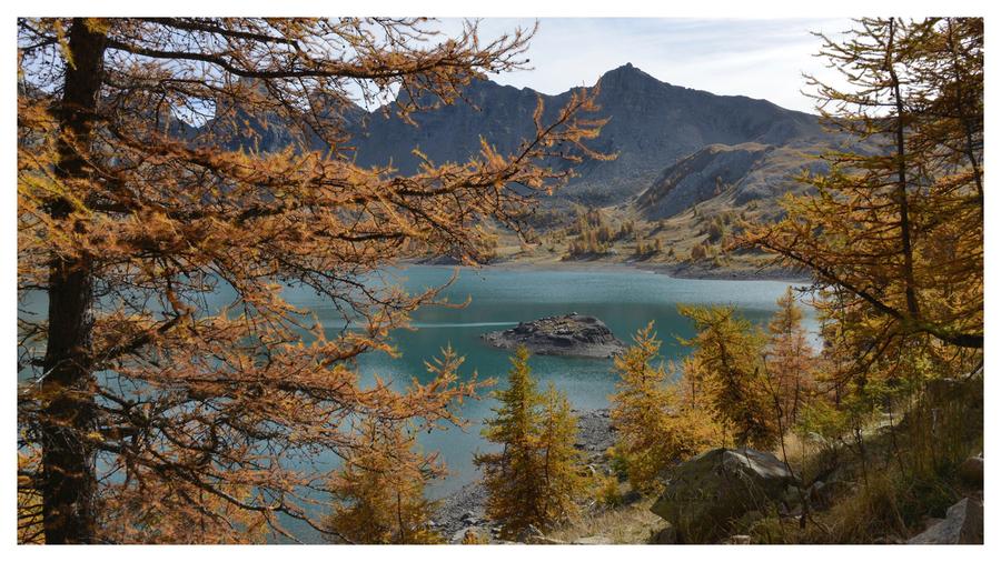 Le lac d'Allos