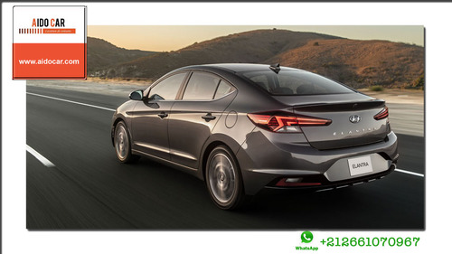 Location voiture Casablanca – la nouvelle Hyundai Elantra 2019
