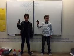 CARNAVAL en classe de CE1