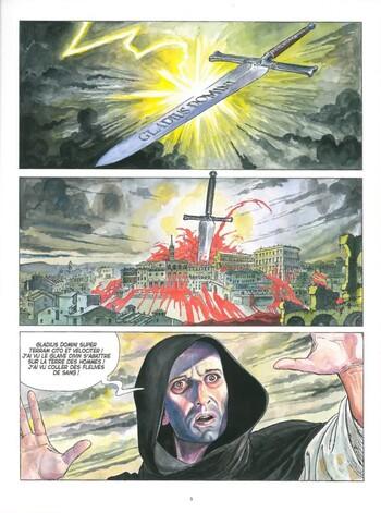 Du sang pour le pape de Jodorowky & Manara - Borgia, tome 1