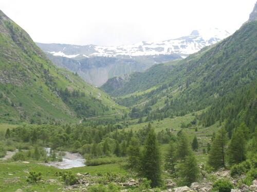 Haute vallée du Drac noir au dessus de Prapic