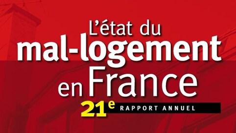 L'état du mal-logement en France - 21e rapport annuel