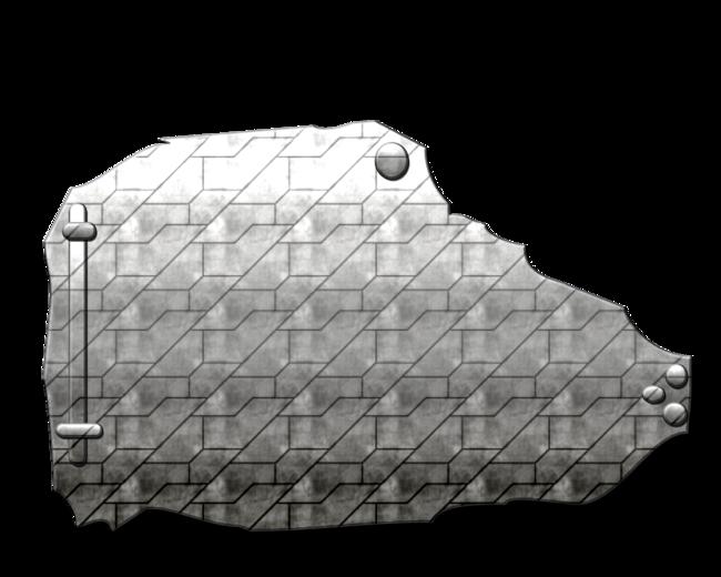 Plaques Métal no:5