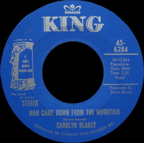 Carolyne Blakey : Single SP King Records 45-6284 [ US ]