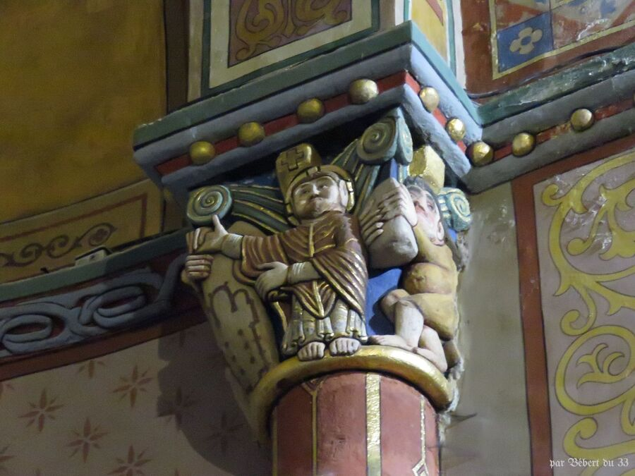 l'église d'Oloron Sainte Marie (64)