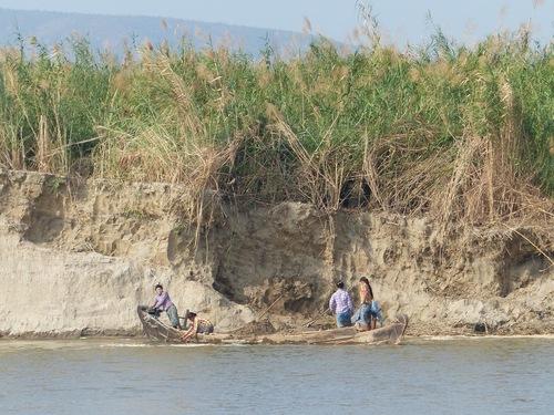 mini croisière sur le fleuve Irrawaddy