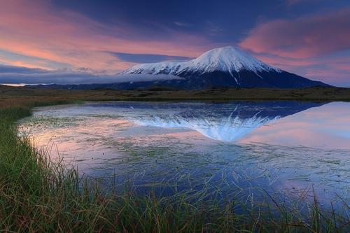 Patrimoine mondial de l'Unesco : Les volcans du Kamtchatka - Fédération de Russie