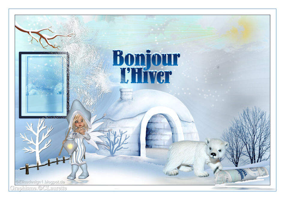 Bonjour l'hiver