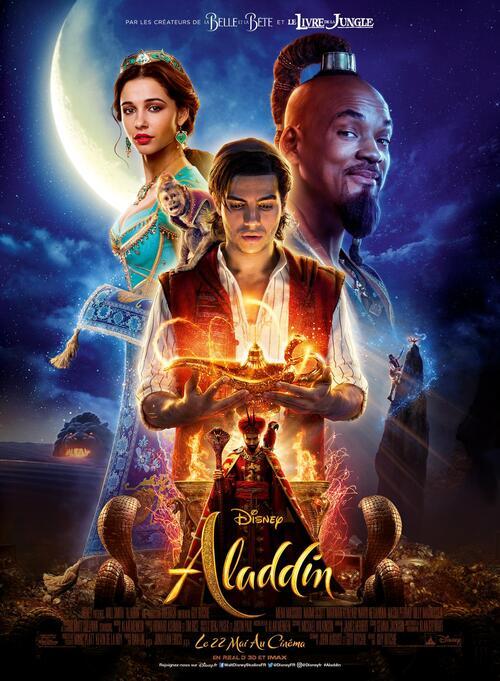 "Bonsoir a l'honneur : "" Aladdin """
