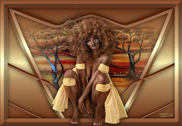 AF0029 - Tube femme africaine