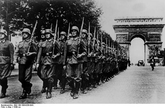 En France occupée, à l'heure allemande 1940- fin 1944